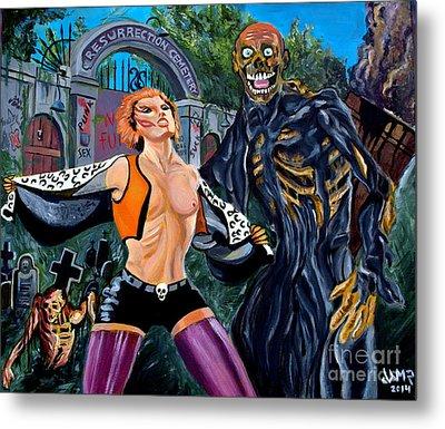 Return Of The Living Dead Metal Print by Jose Mendez