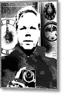 Revelatory Perception Metal Print