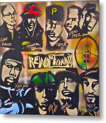 Revolutionary Hip Hop Metal Print by Tony B Conscious