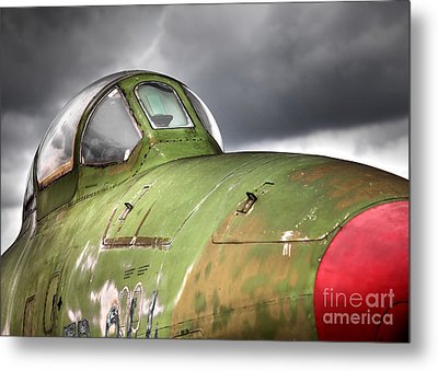 Rf-84 Thunderflash Metal Print
