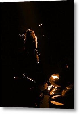 Rg #15 In Amber Metal Print