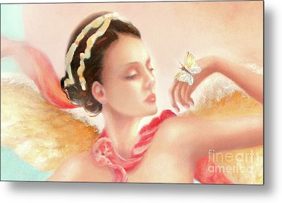 Metal Print featuring the painting Rhapsody S.e. Print by Michael Rock