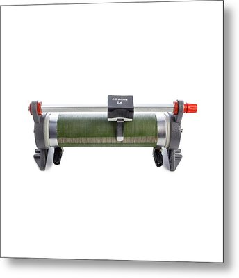 Rheostat Metal Print by Science Photo Library