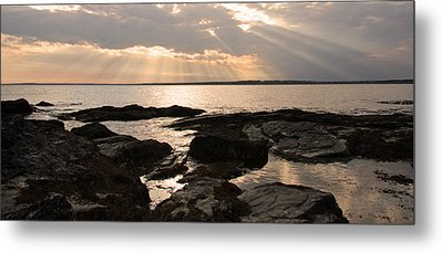 Metal Print featuring the photograph Rhode Island Sunset by Brooke T Ryan