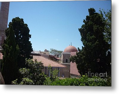 Rhodos Old Building Metal Print