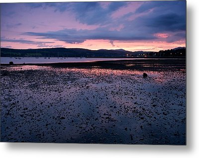 Rhu Marina Sundown Metal Print