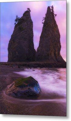 Rialto Monoliths Metal Print by Ryan Manuel