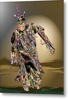 Ribbon Dancer Metal Print by Kae Cheatham