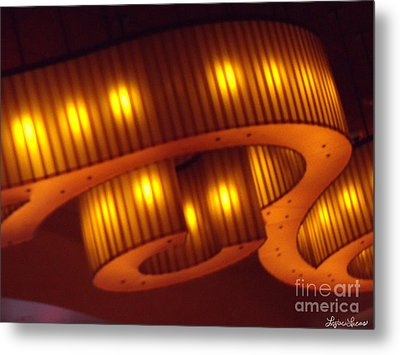 Metal Print featuring the photograph Glowing Ribbon by Lyric Lucas