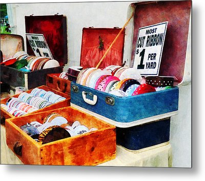 Ribbons For Sale Metal Print by Susan Savad