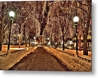 Rice Park Saint Paul Metal Print