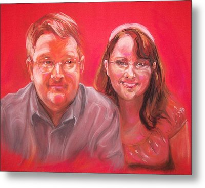 Richard And Lori Metal Print by Martha Suhocke