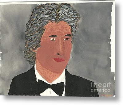 Richard Gere Metal Print by Tracey Williams