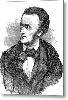 Richard Wagner Metal Print by Collection Abecasis