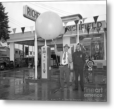 Richfield Station Opening  Metal Print