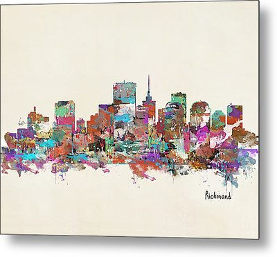 Richmond Virginia Metal Print by Bri B