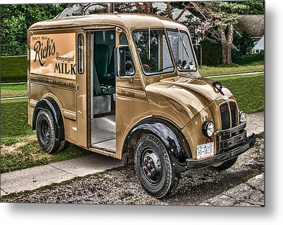 Rich's Milk Metal Print