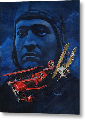Richthofen And Brown Metal Print by Richard De Wolfe