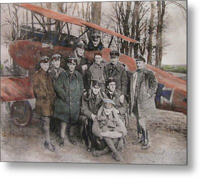 Richthofen And His Flying Circus Metal Print by Vikram Singh