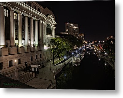 Metal Print featuring the photograph Rideau Canal by Robert Culver
