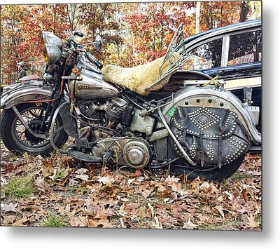 Rider Metal Print