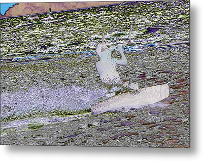 Riding With The Wind Metal Print by Jeff Swan