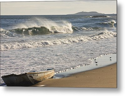 Ried State Park Beach On The Maine Coast Metal Print by Keith Webber Jr