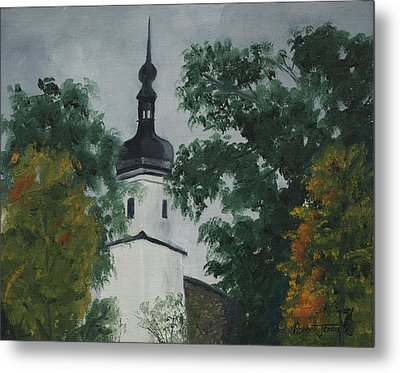 Riesa Germany Metal Print by Robert Jenson
