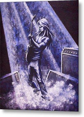 Riff Metal Print by Jack Malloch
