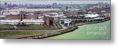 Rikers Island Jail - New York City Department Of Correction Metal Print by David Oppenheimer