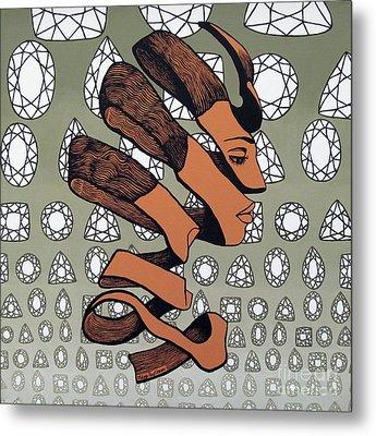 Rind Beauty Metal Print by Malinda Prudhomme