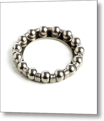 Ring Of Ball Bearings Metal Print