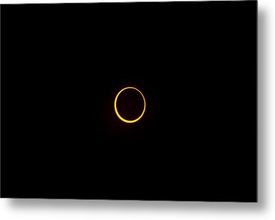 Ring Of Fire 1 Metal Print by Joel Loftus