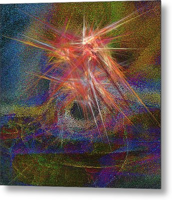 Ring Of Fire Metal Print by Michael Durst