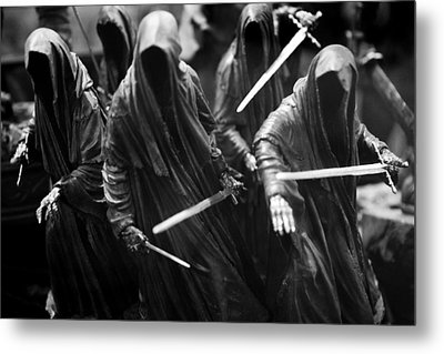 Ring-wraiths Metal Print