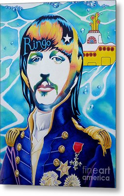 Ringo Metal Print by Debbie  Diamond