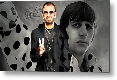 Ringo Star Metal Print
