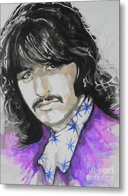 Ringo Starr. 01 Metal Print by Chrisann Ellis