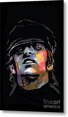 Ringo Starr Metal Print by Andrzej Szczerski