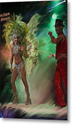 Rio Dancer II A  Metal Print