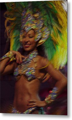 Rio Dancer IIi B Metal Print