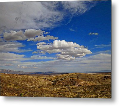 Rio Grande Valley Afternoon Metal Print by Feva  Fotos
