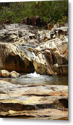 Rio On Pools Metal Print