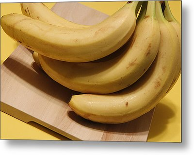 Ripe Bananas Metal Print by Science Source