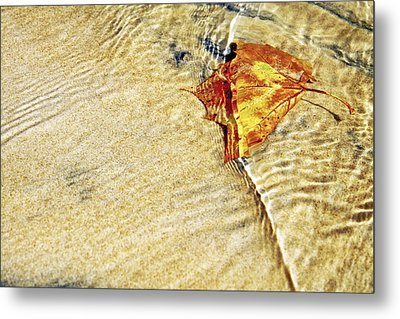 Ripple In Time Metal Print by Jason Politte