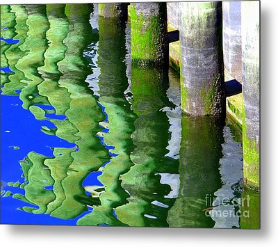 Ripple Reflections Metal Print by Ed Weidman