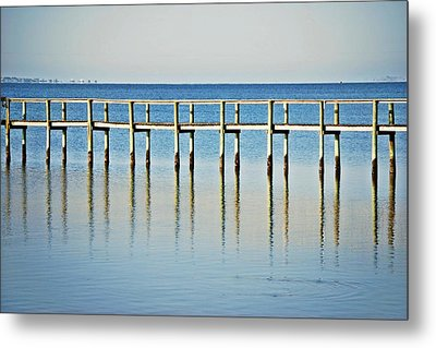 Rippled Reflections Metal Print