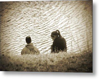 Ripples In Time Metal Print by Brian Wallace
