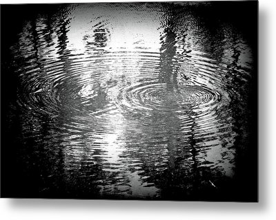 Metal Print featuring the photograph Ripples by Michael Dohnalek