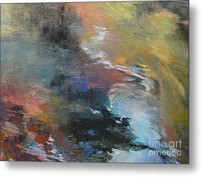 Ripples No. 2a Metal Print by Melody Cleary